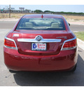 buick lacrosse 2011 dk  red sedan cxl gasoline 6 cylinders front wheel drive automatic 78502
