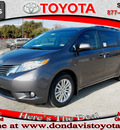 toyota sienna 2013 dk  gray van xle 8 passenger gasoline 6 cylinders front wheel drive automatic 76011