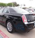 chrysler 300 2012 black sedan limited gasoline 6 cylinders rear wheel drive automatic 75067