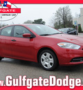 dodge dart 2013 red sedan se gasoline 4 cylinders front wheel drive automatic 77017