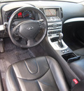 infiniti g37 coupe 2009 dk  gray coupe x gasoline 6 cylinders all whee drive shiftable automatic 75067