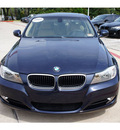 bmw 3 series 2009 blue sedan 328i gasoline 6 cylinders rear wheel drive automatic 78729