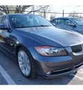 bmw 3 series 2008 gray sedan 335i gasoline 6 cylinders rear wheel drive automatic 78729