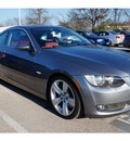 bmw 3 series 2007 dk  gray coupe 335i gasoline 6 cylinders rear wheel drive manual 78729