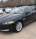 jaguar xf 2013 black sedan 3 0 gasoline 6 cylinders rear wheel drive automatic 77090