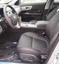 jaguar xf 2013 silver sedan 2 0t gasoline 4 cylinders rear wheel drive automatic 77090