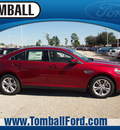 ford taurus 2013 ruby red tc sedan sel gasoline 6 cylinders front wheel drive automatic 77375