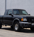 ford ranger 2005 black fx4 off road 4x4 gasoline 6 cylinders 4 wheel drive automatic with overdrive 61832