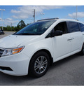 honda odyssey 2013 white van ex l gasoline 6 cylinders front wheel drive automatic 28557
