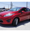 ford fiesta 2012 red hatchback se gasoline 4 cylinders front wheel drive automatic 78520