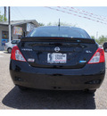 nissan versa 2013 black sedan 1 6 sl gasoline 4 cylinders front wheel drive automatic 78520