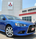 mitsubishi lancer 2012 blue sedan gt gasoline 4 cylinders front wheel drive 5 speed manual 75062