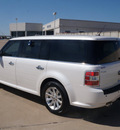ford flex 2010 white suv sel gasoline 6 cylinders front wheel drive automatic 76108