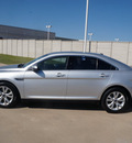 ford taurus 2011 silver sedan sel gasoline 6 cylinders front wheel drive automatic 76108