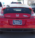 honda cr z 2011 red coupe base hybrid 4 cylinders front wheel drive 6 speed manual 77090