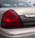 mercury grand marquis 2011 silver sedan ls 8 cylinders automatic 79407