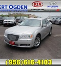 chrysler 300 2011 silver sedan limited gasoline 6 cylinders rear wheel drive 5 speed automatic 78550