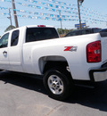 chevrolet silverado 2500hd 2011 white lt gasoline 8 cylinders 4 wheel drive automatic 32401