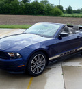 ford mustang 2012 dk  blue v6 premium gasoline 6 cylinders rear wheel drive automatic 62708