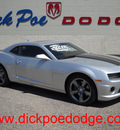 chevrolet camaro 2012 silver coupe ss gasoline 8 cylinders rear wheel drive automatic 79925