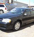 dodge avenger 2012 black sedan se gasoline 4 cylinders front wheel drive automatic 79925