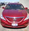 hyundai sonata 2012 red sedan gls gasoline 4 cylinders front wheel drive automatic 79925