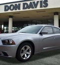 dodge charger 2013 silver sedan se gasoline 6 cylinders rear wheel drive automatic 76011