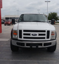 ford f 250 super duty 2008 white xlt diesel 8 cylinders 4 wheel drive automatic 76108