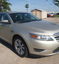 ford taurus 2010 gold sedan sel gasoline 6 cylinders front wheel drive automatic with overdrive 77539