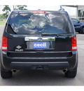 honda pilot 2009 black suv ex l gasoline 6 cylinders front wheel drive automatic with overdrive 77632