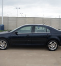 ford fusion 2008 dk  blue sedan v6 sel gasoline 6 cylinders front wheel drive automatic 76108