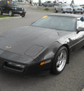 chevrolet corvette 1990 brown hatchback 8 cylinders manual 99212