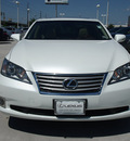 lexus es 350 2012 white sedan 6 cylinders automatic 77074