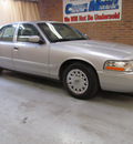 mercury grand marquis 2004 silver sedan gs gasoline 8 cylinders rear wheel drive automatic with overdrive 44883