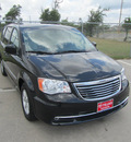 chrysler town and country 2013 black van touring flex fuel 6 cylinders front wheel drive automatic 77587
