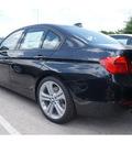 bmw 3 series 2013 black sedan 335i gasoline 6 cylinders rear wheel drive automatic 78729