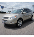 chevrolet traverse 2012 gold ltz gasoline 6 cylinders all whee drive automatic 75657