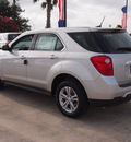 chevrolet equinox 2013 silver ls gasoline 4 cylinders front wheel drive automatic 78155