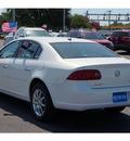 buick lucerne 2007 white sedan cxl v6 gasoline 6 cylinders front wheel drive automatic 76801