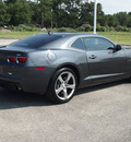 chevrolet camaro 2011 dk  gray coupe ss gasoline 8 cylinders rear wheel drive automatic 78016