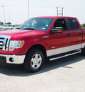 ford f 150 2011 red candy metallic xlt gasoline 6 cylinders 2 wheel drive automatic 78009