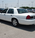 ford crown victoria 2011 white sedan lx flex fuel 8 cylinders rear wheel drive automatic 78009