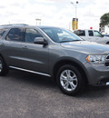 dodge durango 2012 dk  gray suv sxt gasoline 6 cylinders rear wheel drive automatic 78016