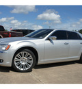 chrysler 300 2011 silver sedan limited gasoline 6 cylinders rear wheel drive automatic 77515