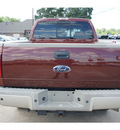 ford f 250 super duty 2008 brown lariat diesel 8 cylinders 4 wheel drive automatic 77515