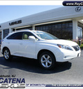 lexus rx 350 2010 white suv navigation gasoline 6 cylinders all whee drive shiftable automatic 07755