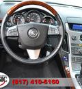 cadillac cts 2011 black sedan 3 0l luxury gasoline 6 cylinders rear wheel drive automatic 76051