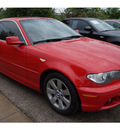 bmw 3 series 2006 red coupe 325ci gasoline 6 cylinders rear wheel drive automatic 78729