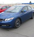 honda civic 2013 blue sedan si gasoline 4 cylinders front wheel drive standard 79936