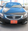 honda accord 2009 black coupe ex l gasoline 4 cylinders front wheel drive automatic 79936